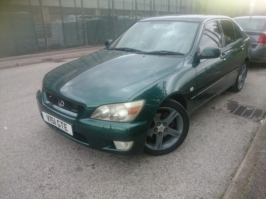 lexus is200 manual for sale