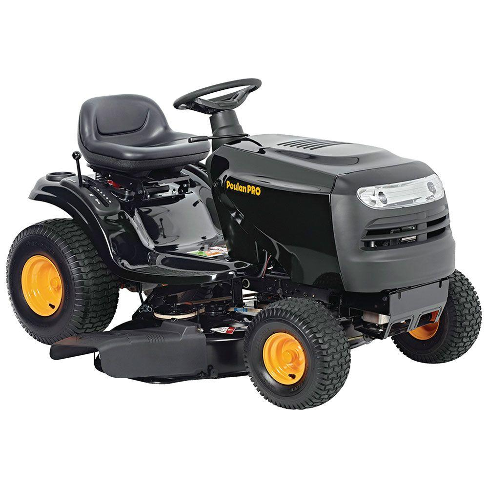 poulan pro 42 riding lawn mower manual