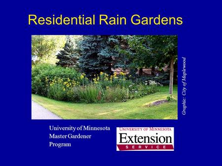 rain gardens a how to manual for homeowners