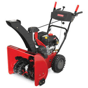 craftsman snowblower 5hp 22 electric start manual