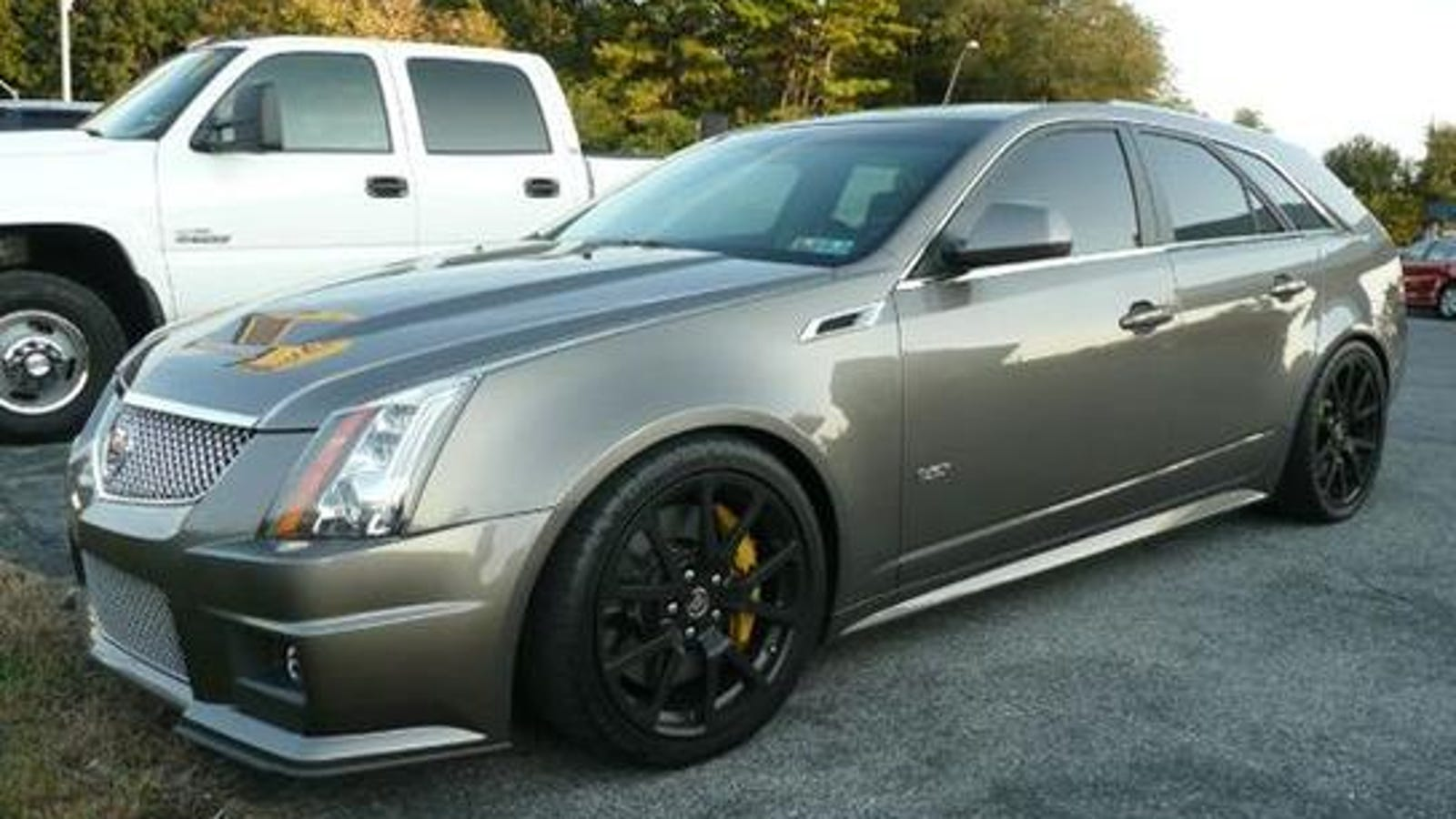 cts v wagon manual transmission for sale