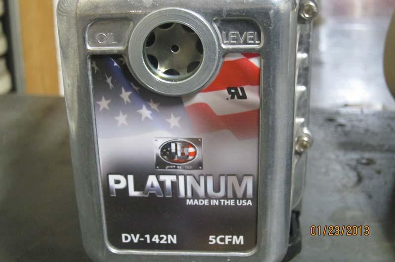 jb platinum vacuum pump manual