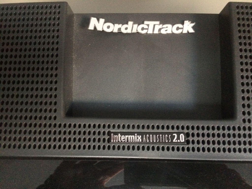nordictrack intermix acoustics 2.0 manual