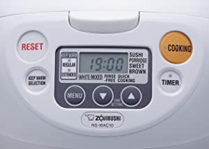 zojirushi neuro fuzzy rice cooker manual